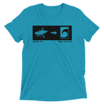 Exit To The Sea Mens / Unisex Triblend T-shirt - Seascape Life