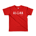 Aloha with Shark Jaws Kids T-Shirt