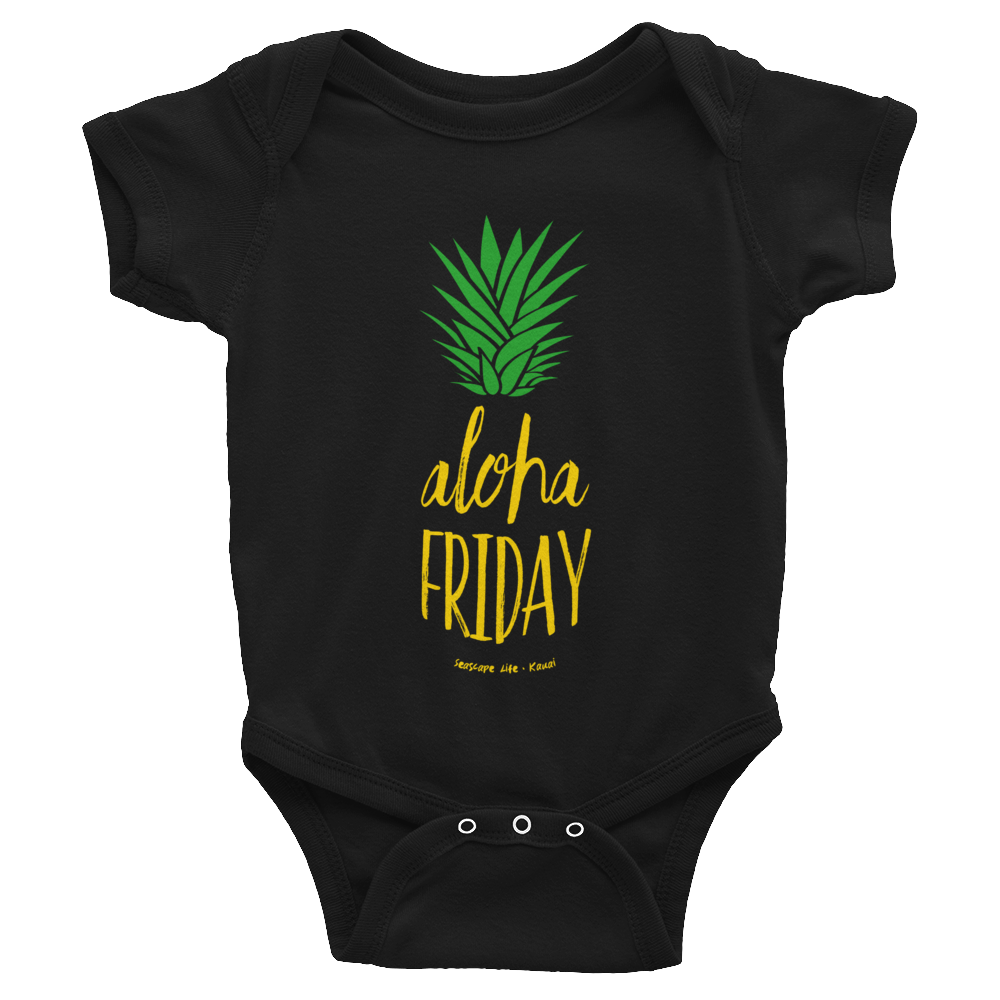 Aloha Friday Pineapple Infant Onesie - Seascape Life