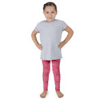 Aloha Pineapple Kid's Leggings - Seascape Life