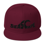 Seascape Wave Wool Blend Snapback Hat - Seascape Life