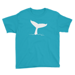 Whale Fluke Youth T-Shirt - Seascape Life