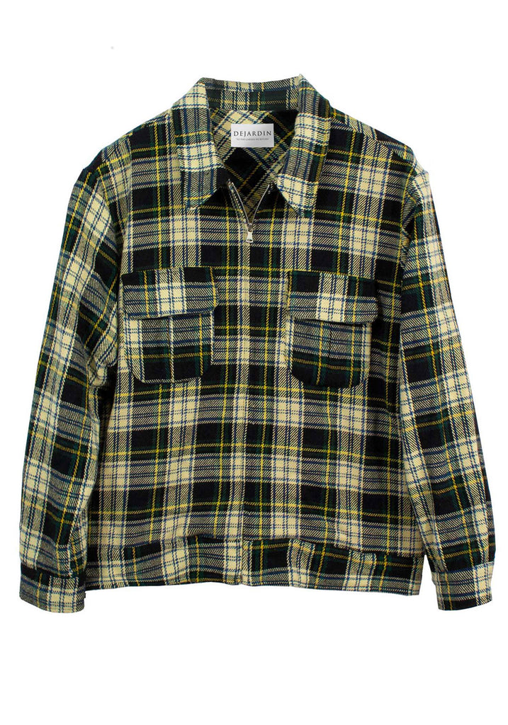 PLAID SMOKERS JACKET | PLAID