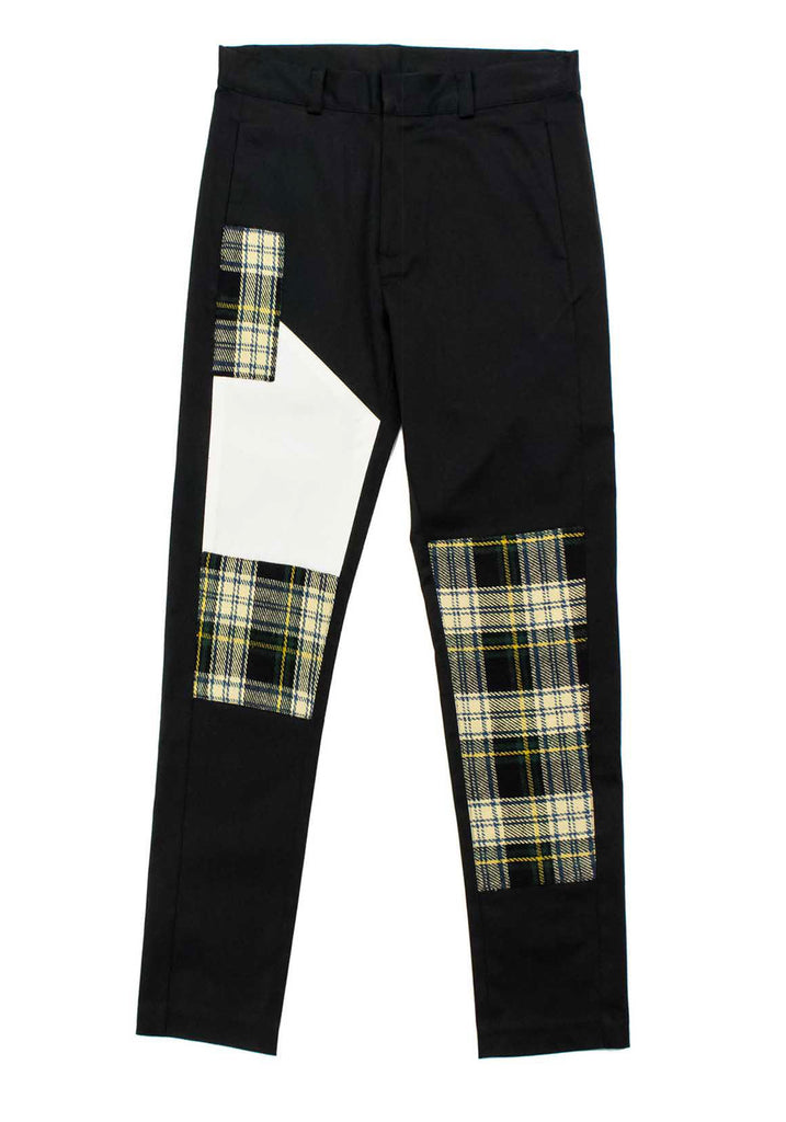PATCHWORK TROUSER