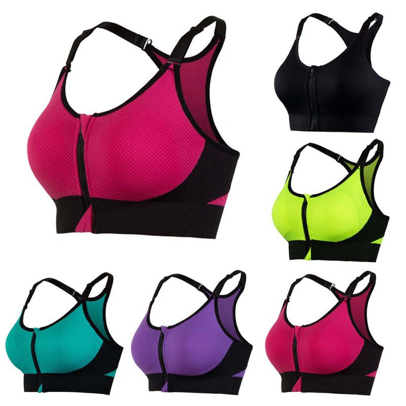 d9712d007d5ae NEW Professional Women Yoga Bra Sports Bra for Running Gym Fitness Athletic  Bras Padded Push Up Tank Tops