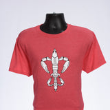 "Louisiana Crawfish Shirt - ""Fleur de Crawfish"""