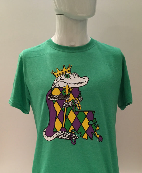 Mardi Gras shirt in New Orleans