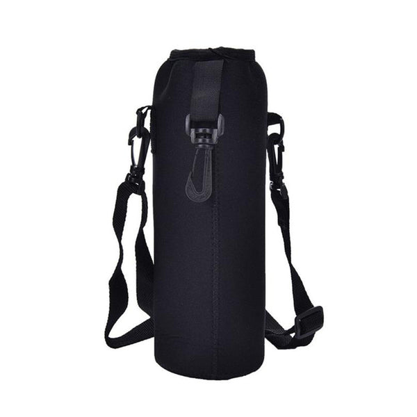 1000ML Water Bottle Carrier Insulated Cover Bag straps Cloth material bottle Holder Strap Pouch Outdoor camping supply