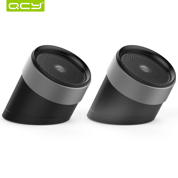 QCY QQ1000 bluetooth speakers 3D stereo metal loudspeaker portable wireless speakers sound system music audio player with MIC