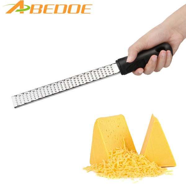 ABEDOE Multifunctional Stainless Steel Cheese Slicers Lemon Graters Chocolate Shavings  Ergonomic  handle Cheese Kitchen Tool