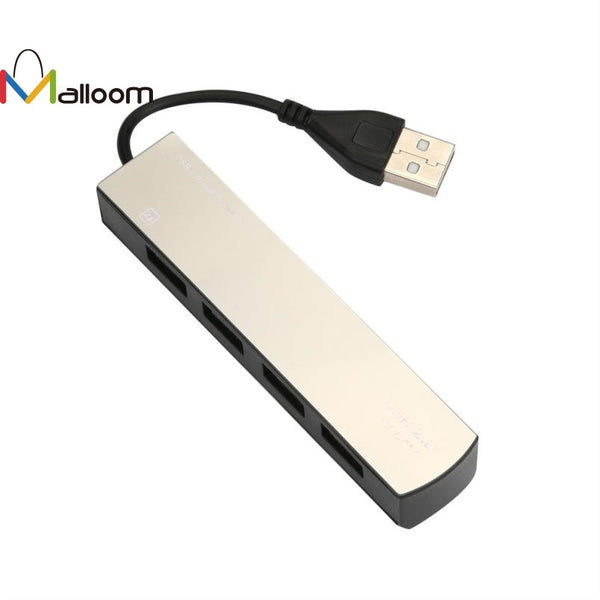 4 in 1 USB 2.0  Hub High Speed 60MB/s USB Splitter 4 ports Converter Adapter for Tablet for PC Laptop Notebook#20