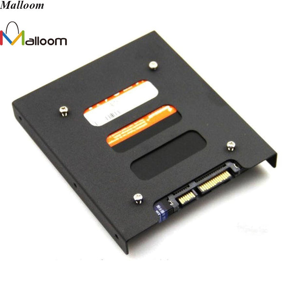 2017 New 2.5'' SSD HDD To 3.5'' Hard Drive Adapter Mounting Adapter Bracket Dock Hard Drive Holder to Connect For PC Hard Drive