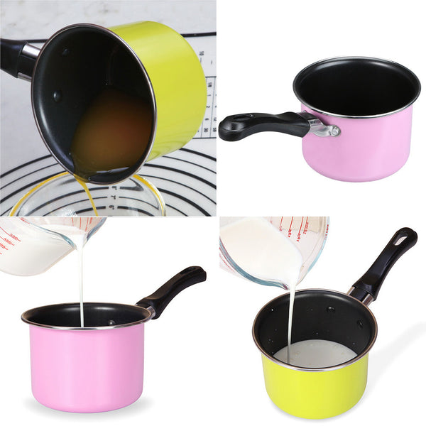 Useful Portable Soup Pot Cooking Tool Non-stick Milk Pot Mini Sauce Pan Stockpot