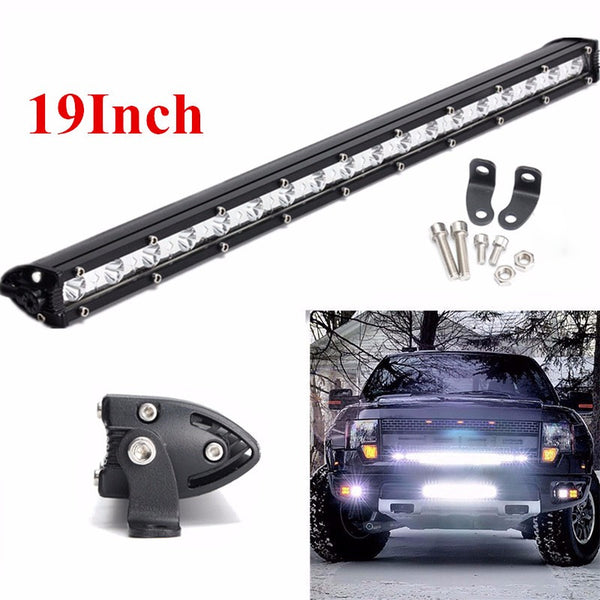 19 Inch 40W LED Work Light Bar Spot Flood Combo Driving Lamp