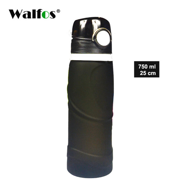 WALFOS 750ML Water Bottle My Sports Straw Bottles For Water Plastic Water Portable Handle Bike Tumbler Tritan Drinking Brand
