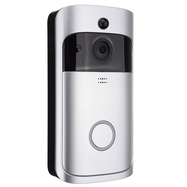Wireless 720P Real-time Video Doorbell  Security Camera Two-Way Talk Night Version Wifi APP Control Intercom Doorbell