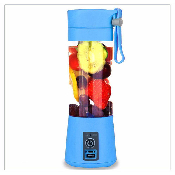 USB Juicer Cup Fruit Mixing Machine, Portable Personal Size Mixer Blender