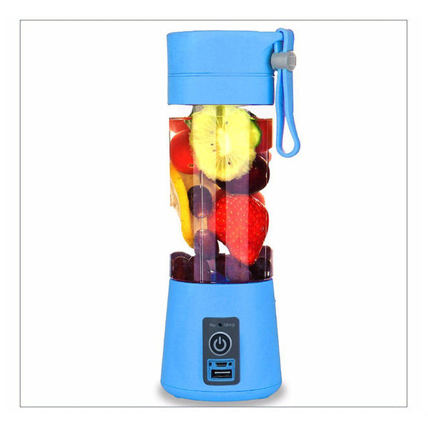 Portable USB Electric Fruit Citrus Juicer Bottle Handheld Milkshake Smoothie Maker