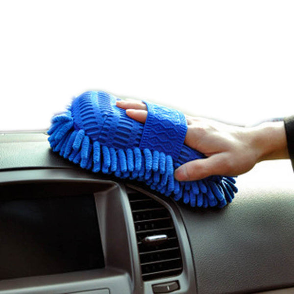 Super Mitt Microfiber Car Wash Gloves Washing Cleaning Anti Scratch Car Washer Household Care Brush Hot Selling