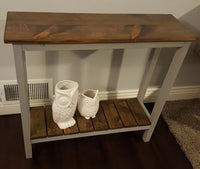 Sofa or entryway table