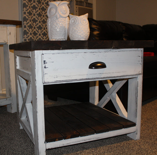 End Table with Single Drawer