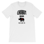 Chubby Unicorns Short-Sleeve Unisex T-Shirt