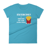 Extra Fries Women's short sleeve t-shirt