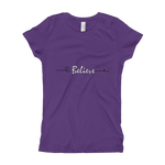 Believe Girl's T-Shirt