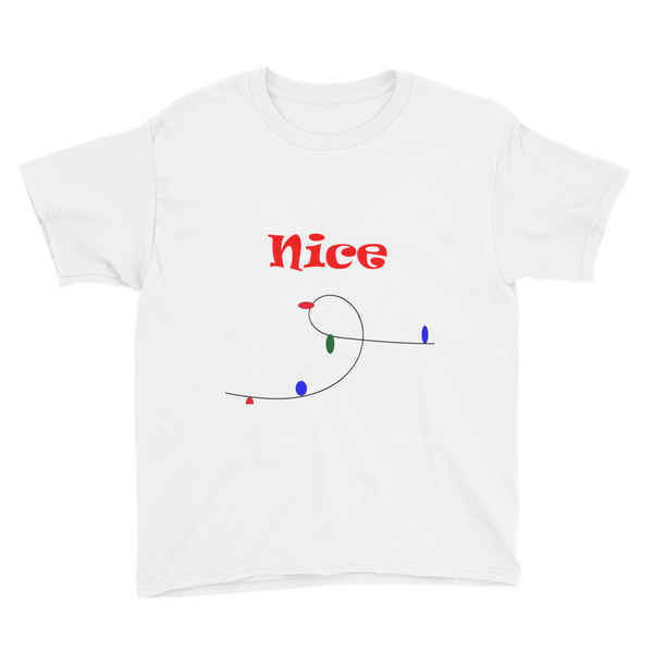 Youth NIce or Naughty Short Sleeve T-Shirt