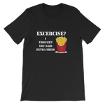 Extra Fries Short-Sleeve Unisex T-Shirt