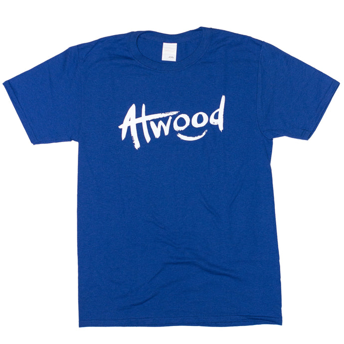 Smiley Atwood T-Shirt - Blue
