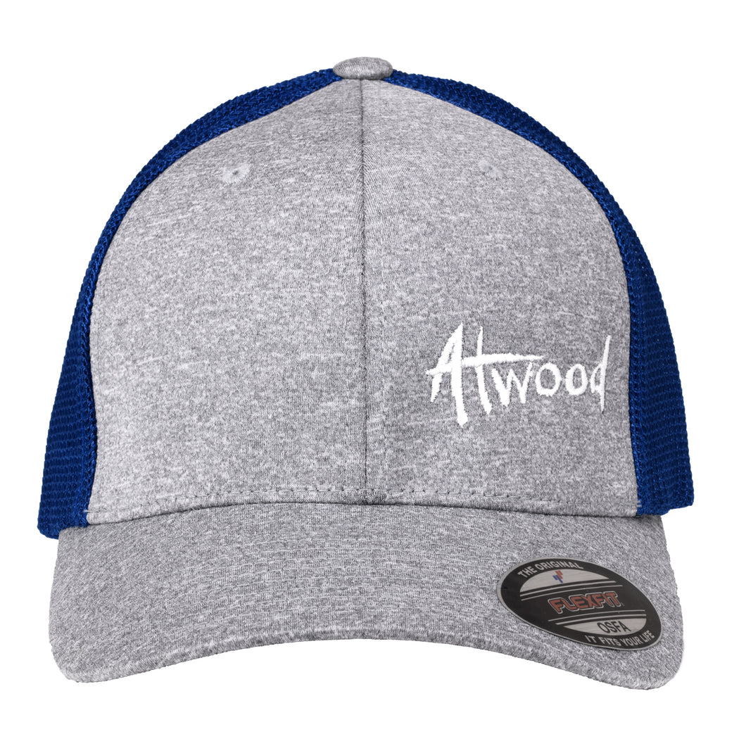 Atwood Hat - FlexFit - Blue/Gray