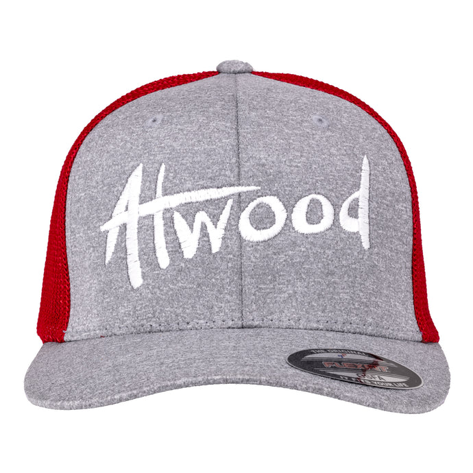 Atwood Hat - FlexFit - Red/Gray