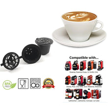 Load image into Gallery viewer, Reusable Nespresso Capsules - 6 Pack - Refillable Pods For Nespresso Machines (OriginalLine Compatible)