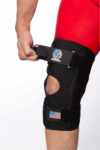 KNEE MATE™ WRAP AROUND WITH HINGES