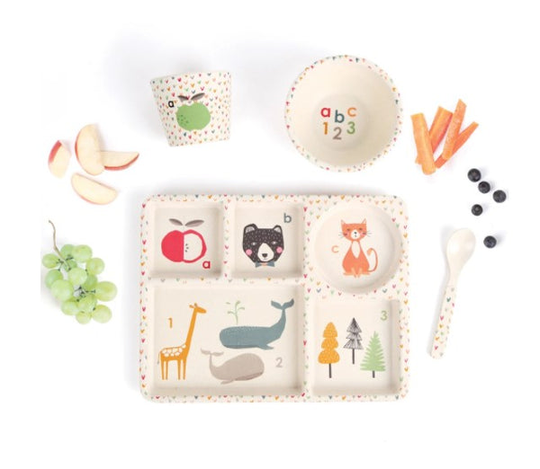 Love Mae Divided Plate Set