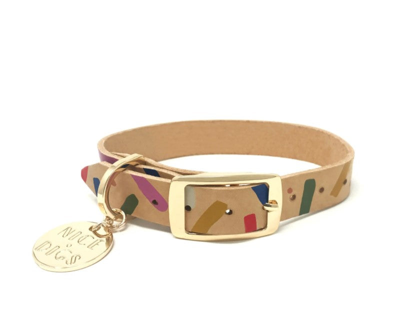 Jungle Confetti Collar
