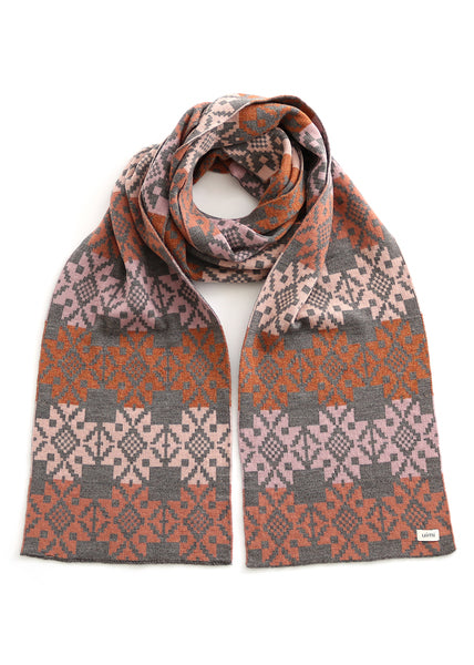 Ryder Folk Cross Pattern Scarf