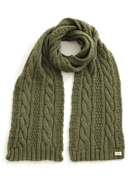 Trinity Cable Scarf