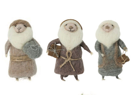 Felt Narnia Decorations