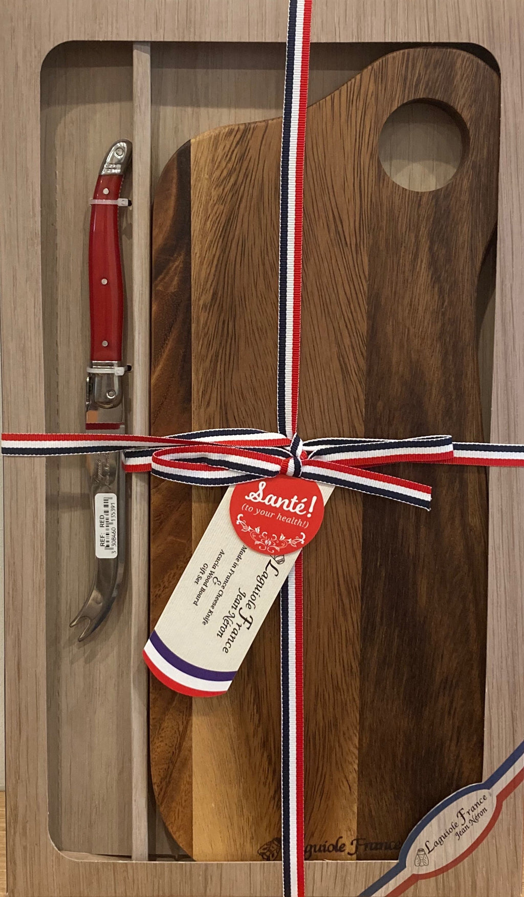 French Cheese Knife & Board Set