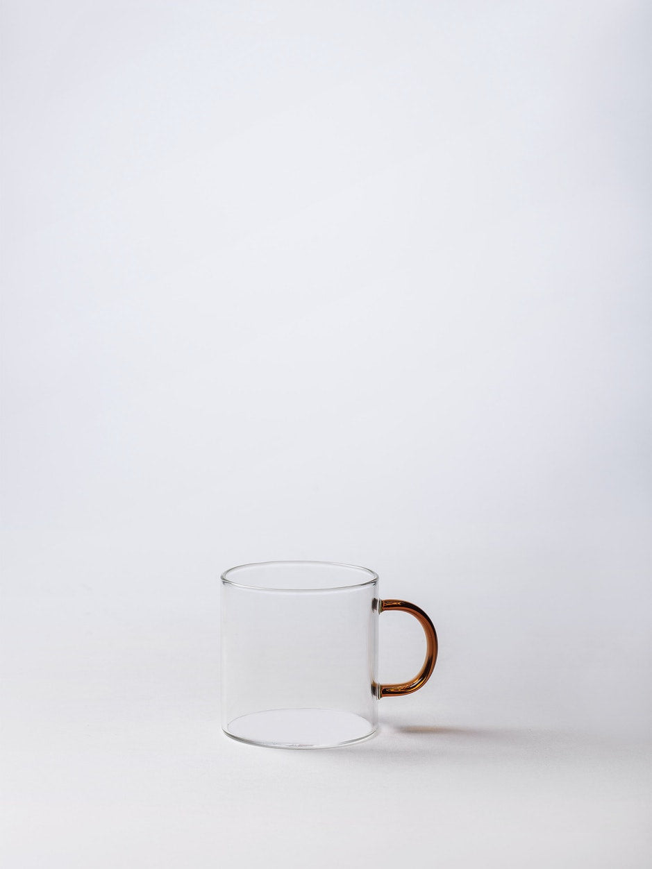 Mug w Coloured Handle