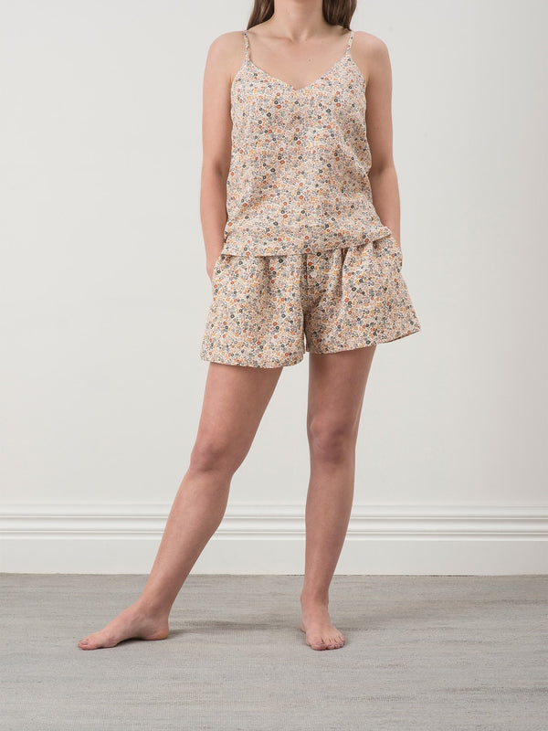Wildflower Linen PJs
