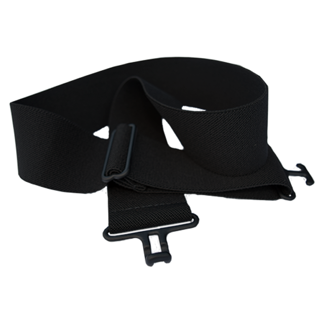 Black + Black Elastic Belt
