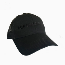 All Black ACE Hat