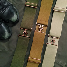 Khaki + Copper Equestrian Belt