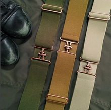 Olive + Copper Equestrian Belt