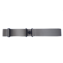 Khaki + Black Elastic Belt