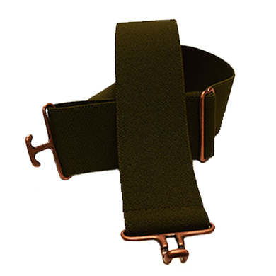 Olive + Copper Elastic Belt
