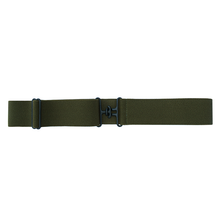 Olive + Black Equestrian Belt